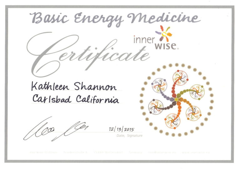 Innerwise Certificate