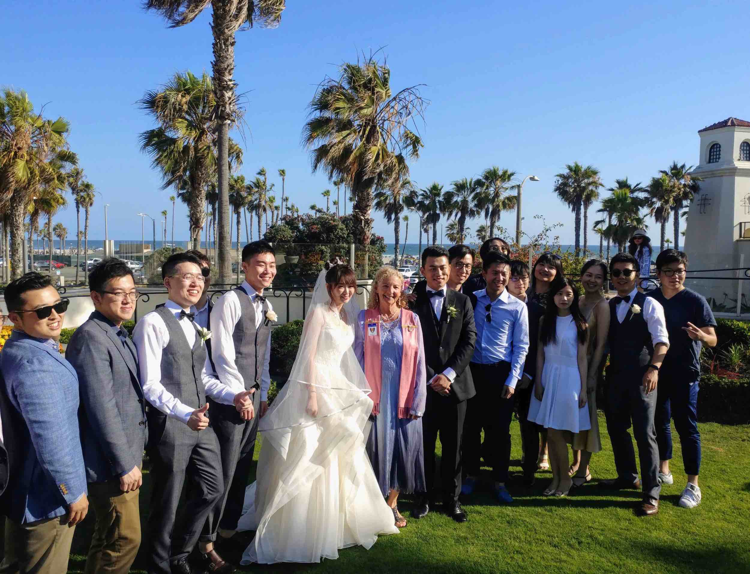 Hyatt HB wedding group